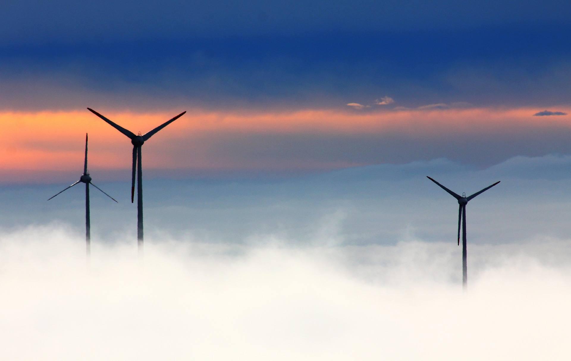 Windpark Wolken